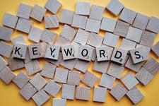 Google Analytics identifies keywords